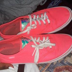 Hot Pink Van's